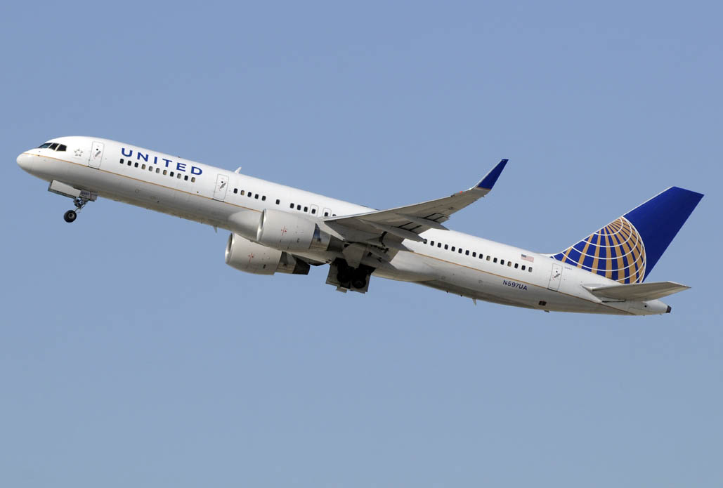 Boeing 757 de United Airlines