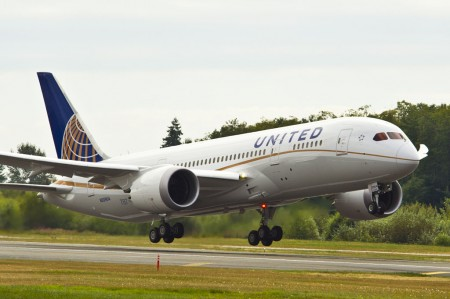 Boeing 787 Dreamliner de United