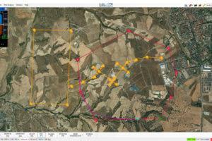 Pantalla de control del piloto automático Visionair de UAV Navigation, donde ahora se integrará información sobre el motor o motores del UAV.q