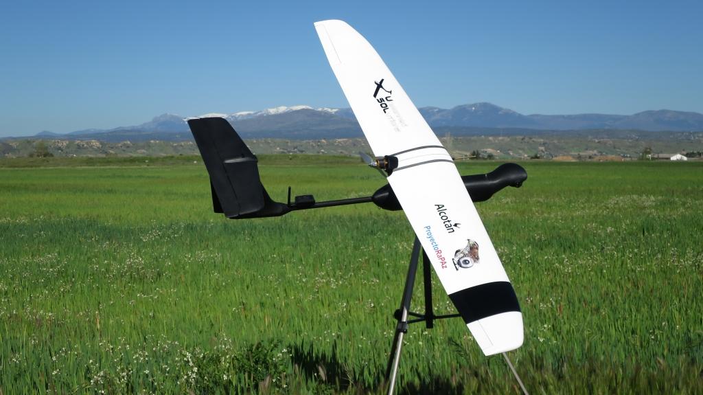 El UAV Alcotán.
