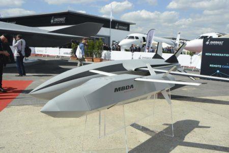 Propuesta de MBDA para un dron para el FCAS.