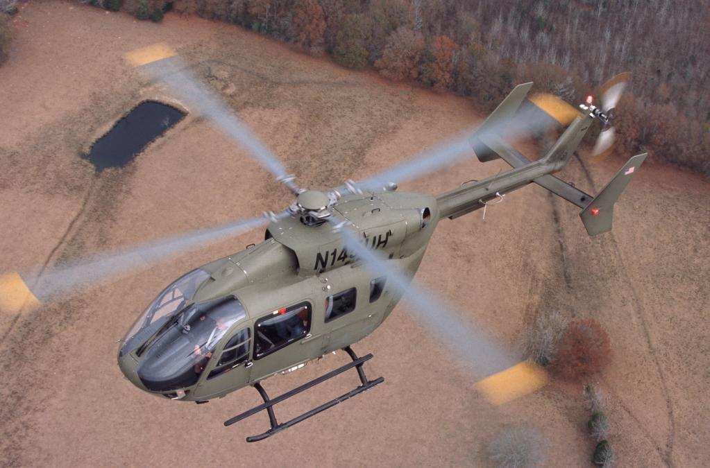 El Lakota número 400 durante uno de sus vuelos previos a su entrega.