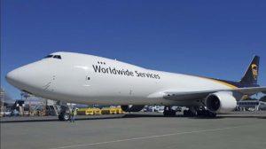 UPS recibió un nuevo B-747-8F el pasado mes de septiembre.