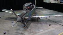 El primer Beech AT-6E de la USAF.