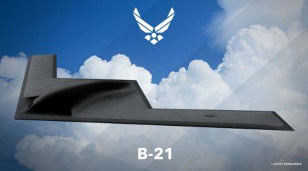 Imagen publicada por la USAF en 2016 al anunciar el desarrollo del B-21.