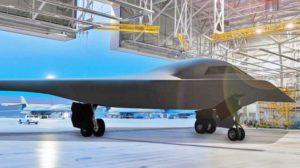 Una de las nuevas imágenes del B-21 que ha hecho públicas la USAF.