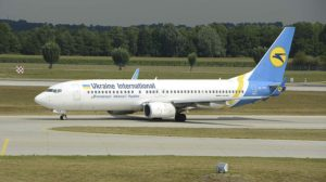 Boeing 737-800 de Ukraine International similar al accidentado.