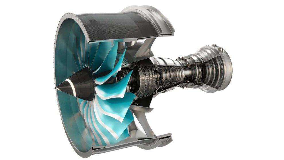 Corte del Rolls-Royce Utrafan.