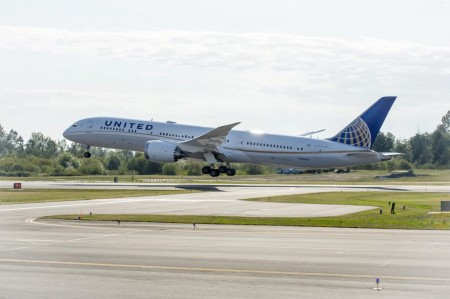 Boeing 787-9 de United Airlines