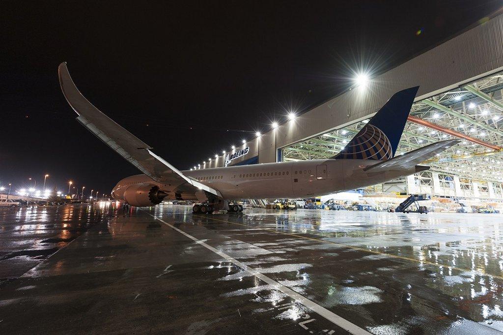 Primer Boeing 787-9 de United