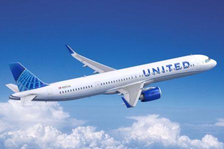 United suma el Airbus A321neo a sus pedidos de A321XLR.