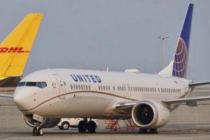 Boeing 737 MAX 9 de United Airlies.