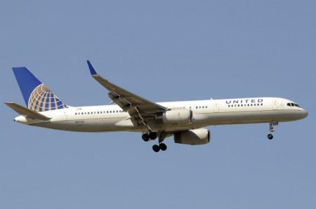 Boeing 757 de United