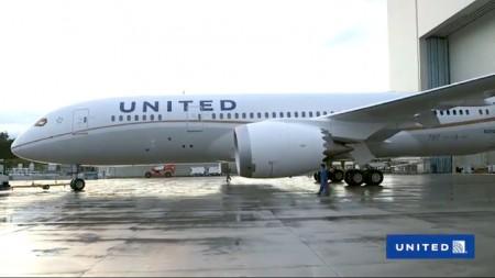 Boeing 787 Dreamliner de United