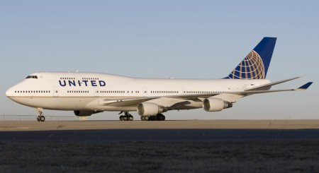 Boeing 747-400 de United Airlines