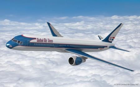 Colores del Boeing 247 de United
