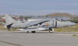Desde hace unos pocos años los Harrier portan sus matrículas en la parte trasera del fuselaje. Antes sólo se les indentificaba por su numeral de unidad