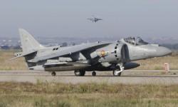 Los Harrier fueron los últimos en despegar de Torrejón