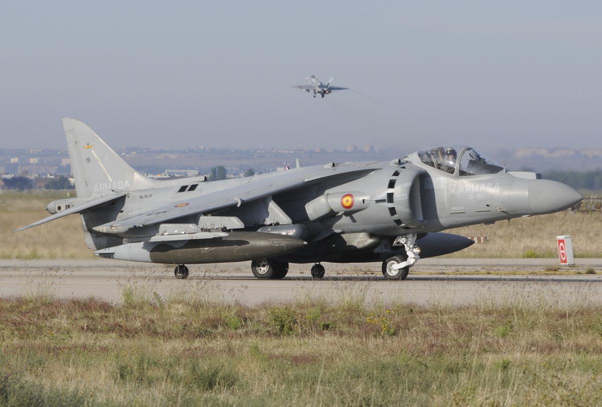 McDonnell Douglas AV-8B HArrier Plus de la Novena Escuadrilla