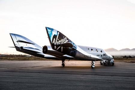 Virgin Galactic tiene previsto contar con cinco naves SpaceShip Two para los vuelos turísticos al espacio.