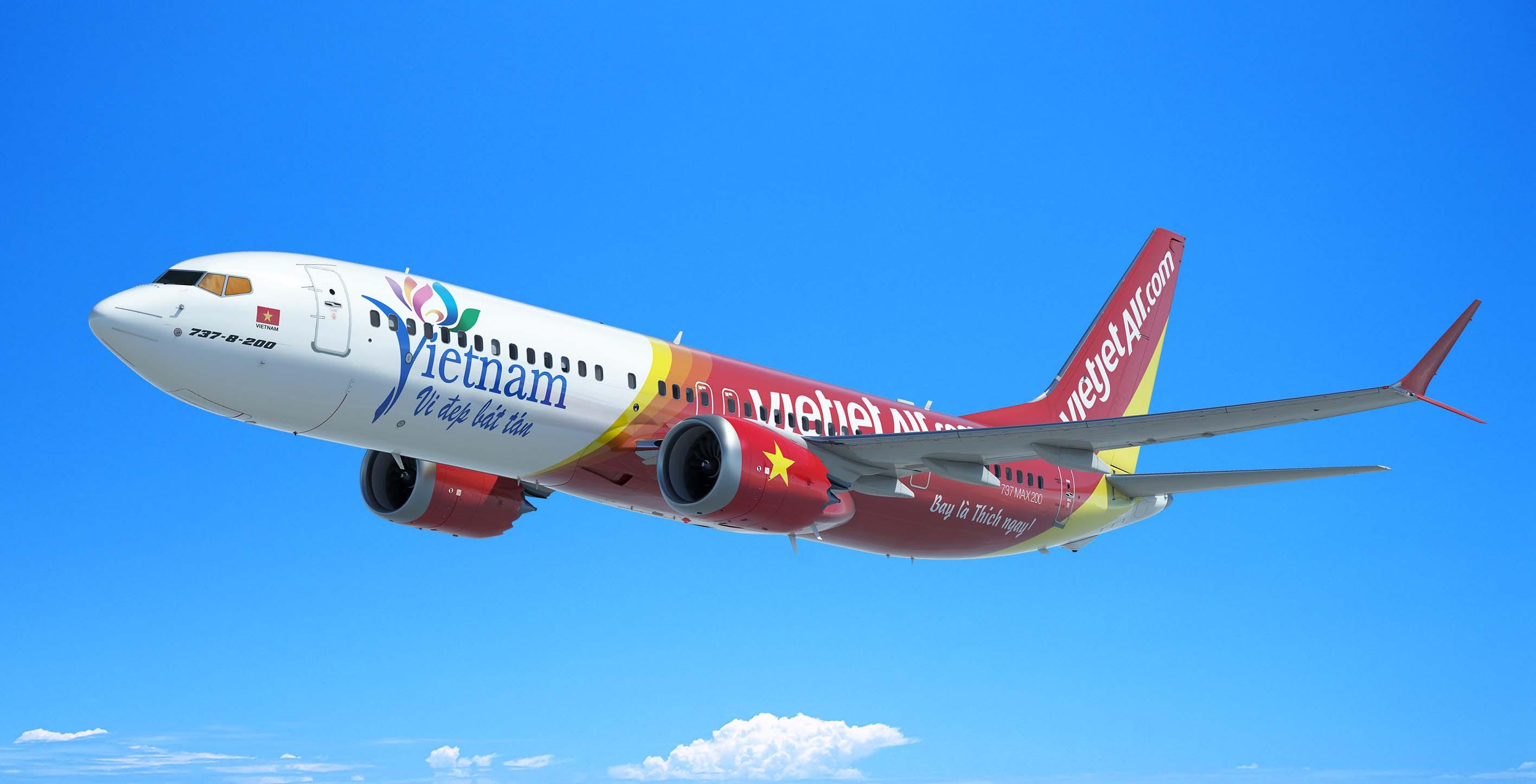 Vietjet comenzó sus operaciones en diciembre de 2001 y con estos Boeing 737 MAX su flota superará los 200 aviones.