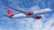 Además de los A330neo que acaba de adquirir, Virgin opera A330ceo y A340.