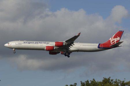 Virgin Atlantic retiró  sus A340-600  por la crisis del cotronavirus.Virgin Atlantic retiró  sus A340-600  por la crisis del cotronavirus.