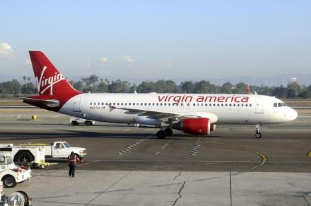 Airbus A320 de Virgin America