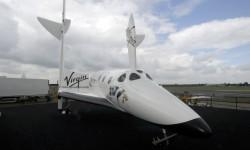 Modelo a escala 1:1 del SpaceShip Two