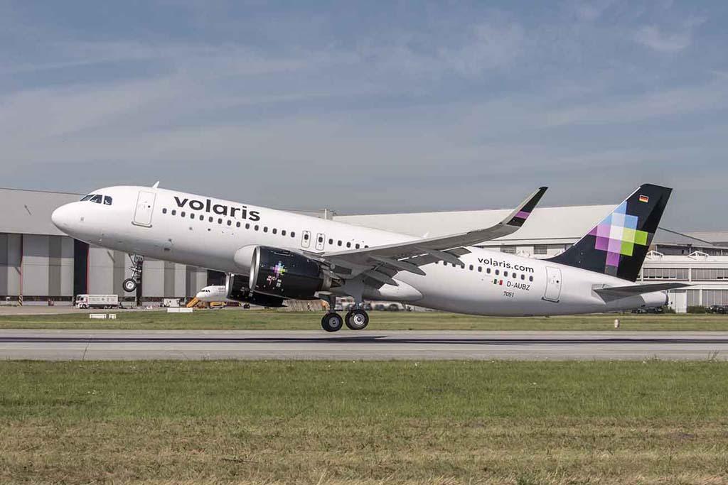 El primer A320neo de Aercap/Volaris hizo su primer vuelo el 25 de agosto desde Finkenwerder.