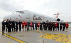 Volotea celebra su quinto aniversario con 40 nuevas rutas y billetes a cinco euros.