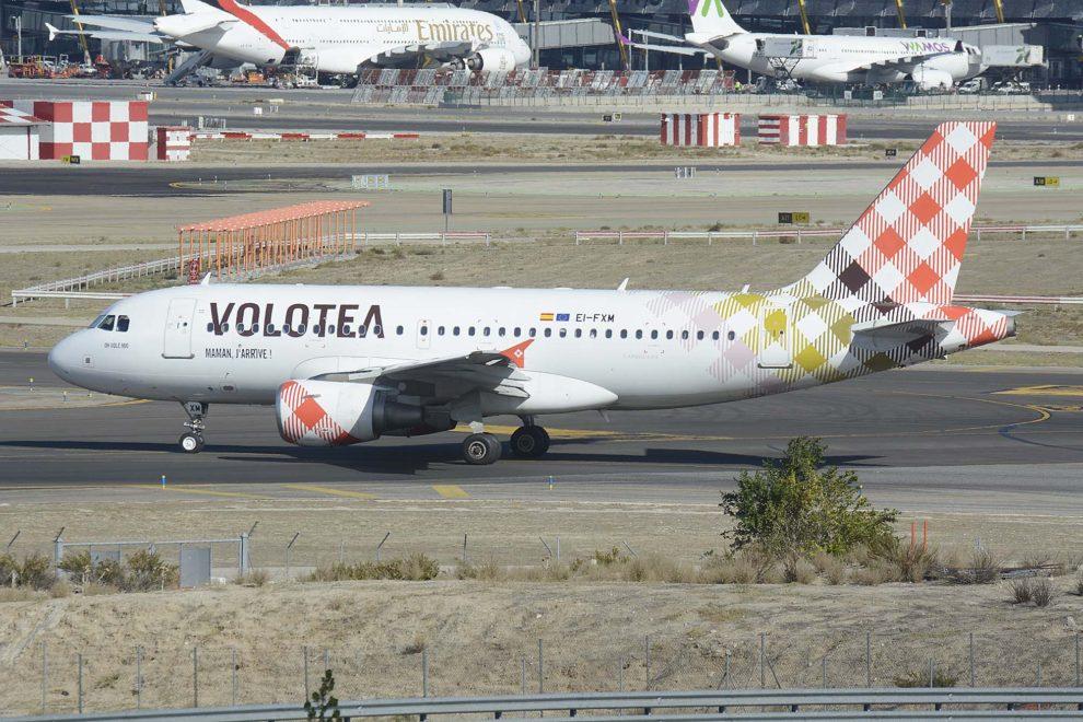 Volotea cuenta ya con doce Airbus A319 en su flota.
