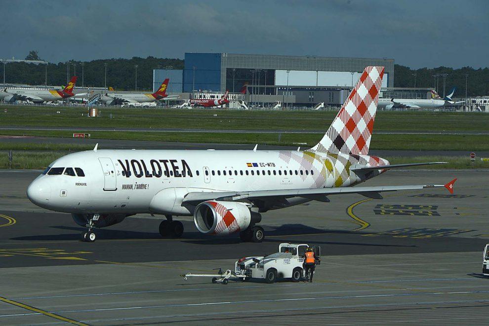 Volotea cuenta ya con 19 Airbus A319 en su flota.