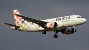 Uno de los 20 Airbus A319 operados este verano por Volotea.