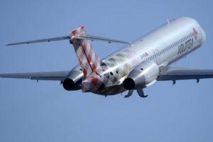 Volotea vuelve a volar, con ocupaciones de más del 85 por ciento.