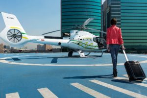 Voom es uno de los pasos que Airbus Helicopters está dando para hacer más conocido el transporte aéreo en las ciudades de cara al uso de aerotaxis automáticos sin piloto.