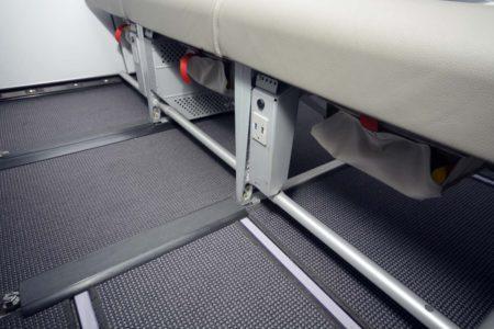 Vueling está instalando tomas USB para la recarga de dispositivos móviles en todos los asientos.
