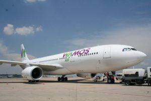 Aerotec se encargará de la formación en PNB de los pilotos de Wamos Air de acuerdo a la nueva normativa.