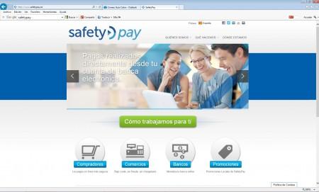 SafetyPay permite el pago también en efectivo en una serie de bancos y empresas asociadas.