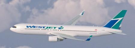 Westjet añadirá a sus colores un nuevo logo en su fuselaje con una hoja de arce azul comenzando con los nuevos Boeing 767.