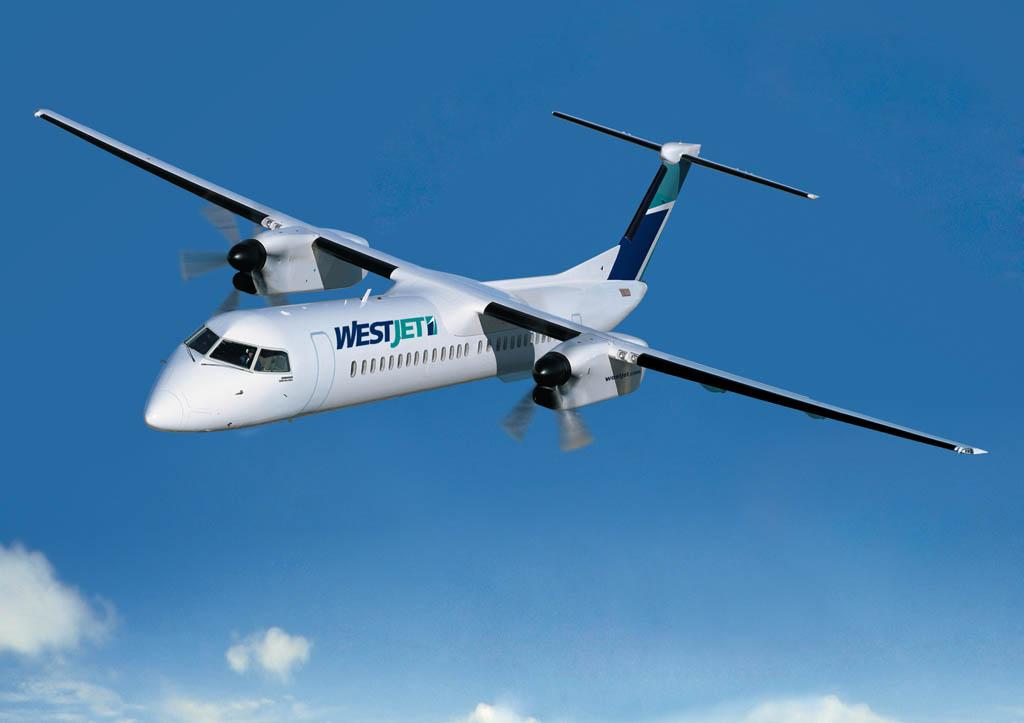 Q400 de Westjet.