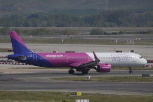 Airbus A321 de Wizz Air.