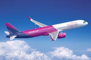WizzAir recibirá 20 d e los nuevos A321XLR comprados por Indigo.