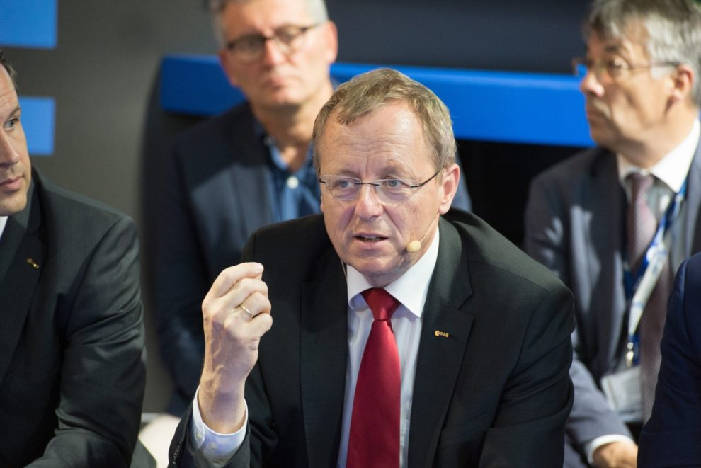 Jan Woerner, director general de la ESA