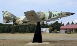 """Nuevo """"gate guardian"""" del CLAEX, el cuarto de los prototipos del CASA C-101."""