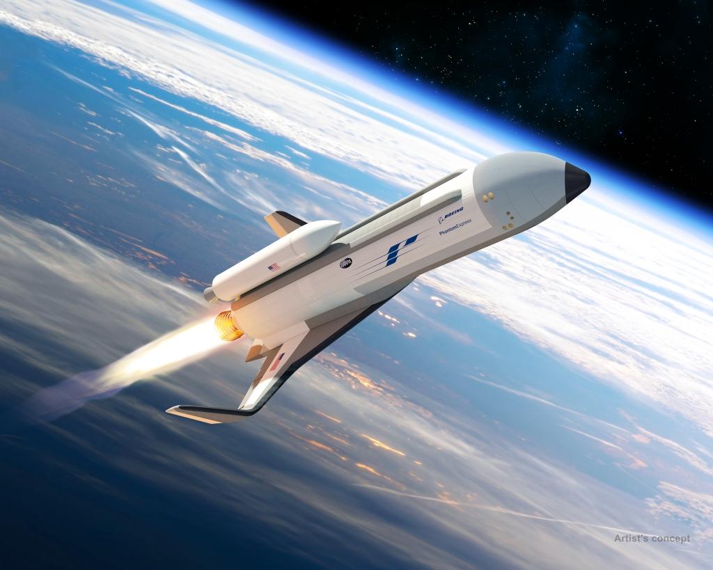 Boeing construir una nueva lanzadera espacial for Puerta nave espacial