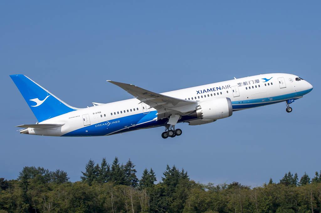 Boeing 787 de Xiamen Airlines