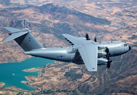 Primer Airbus Defense and Space A400M de la RAF