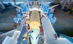 Airbus está ampliando sus instalaciones de montaje final del A350.