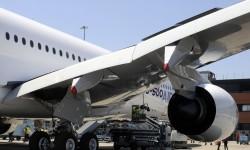 Los flaps tiene3n forma curvada para juna mejor aerodinámica en vuelo.